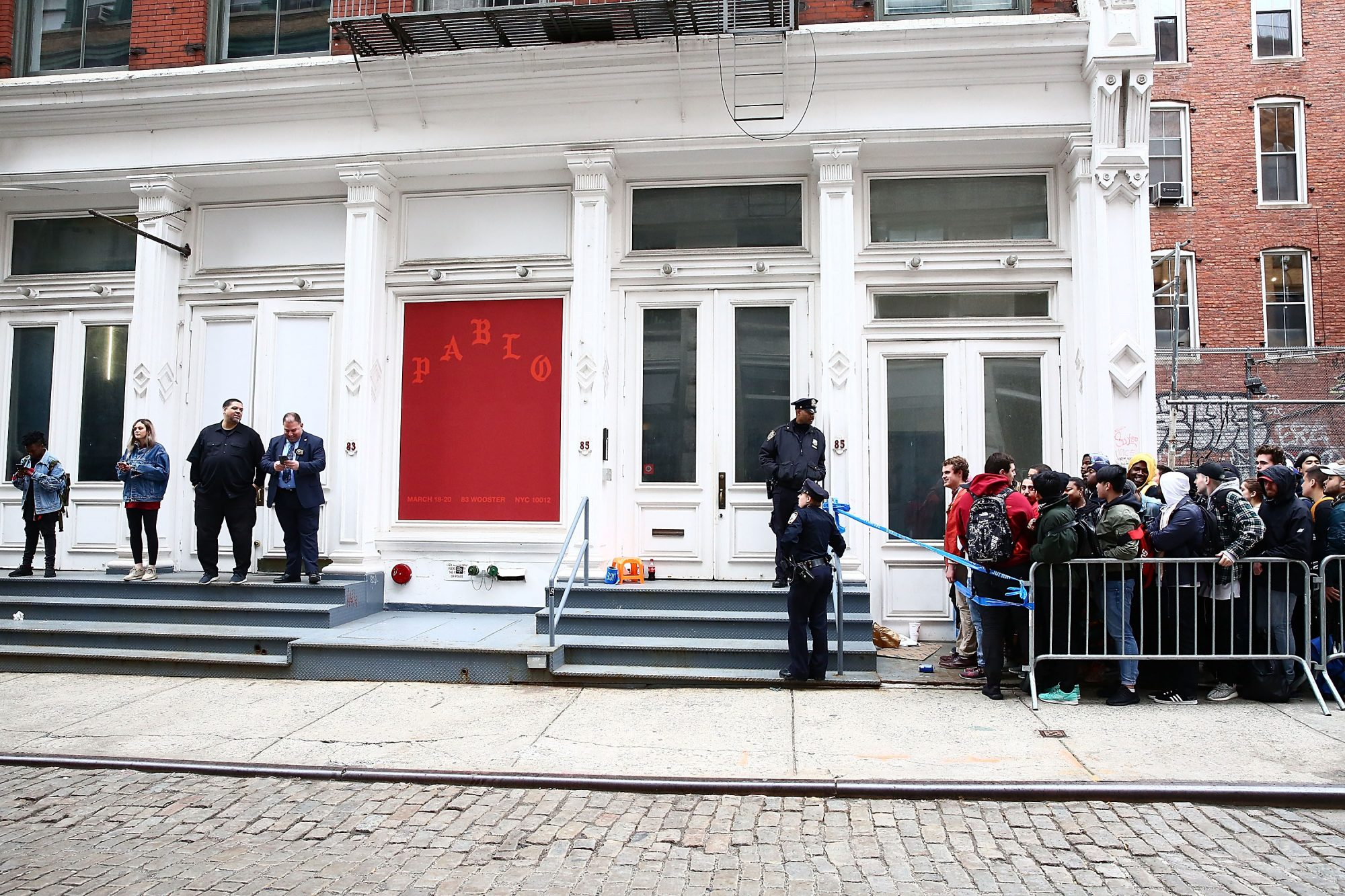 "Kanye West Opens Surprise ""Pablo Pop-Up Shop"" In Manhattan"