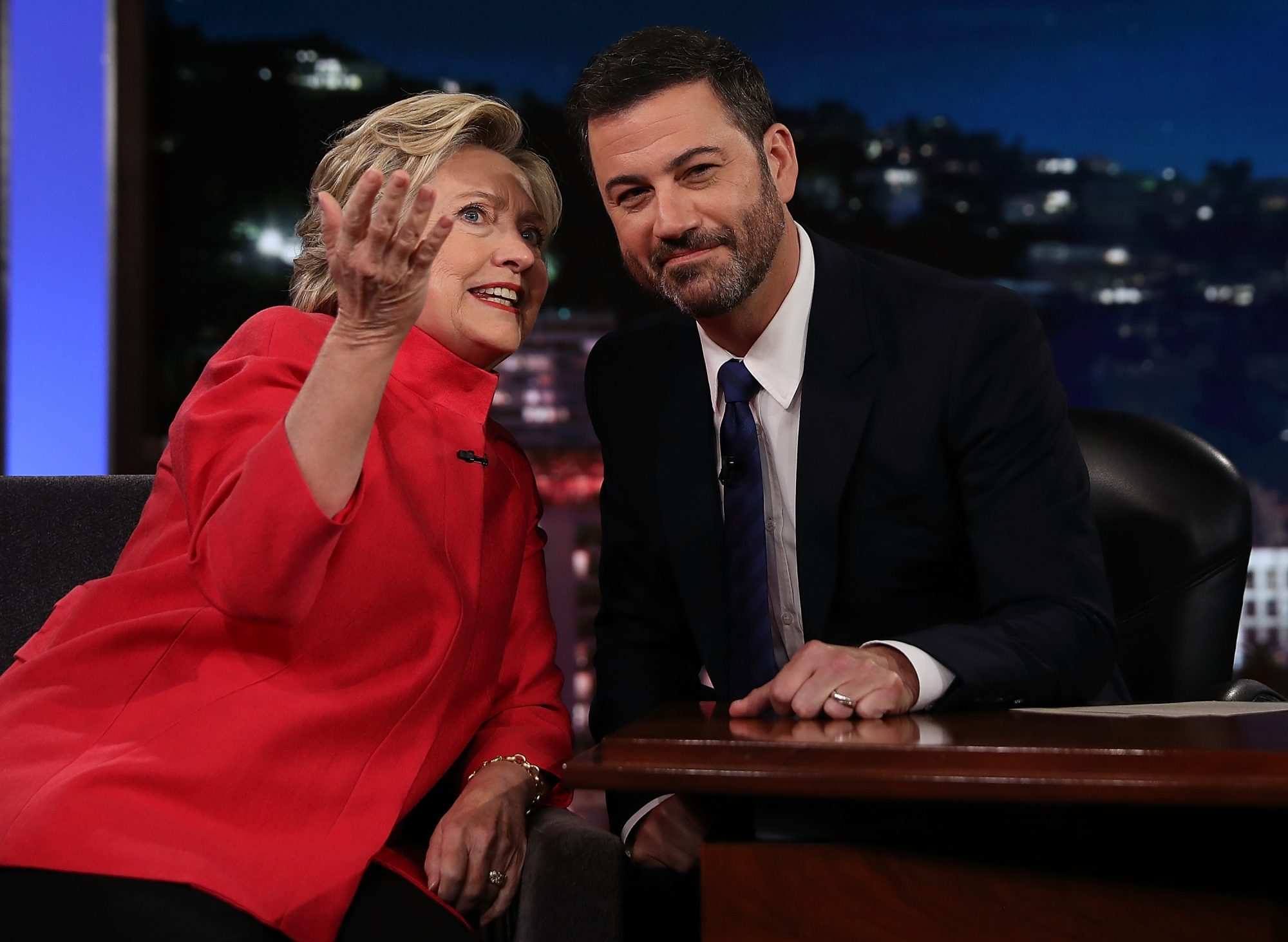 """Hillary Clinton Tapes Appearance On """"Jimmy Kimmel Live"""""""
