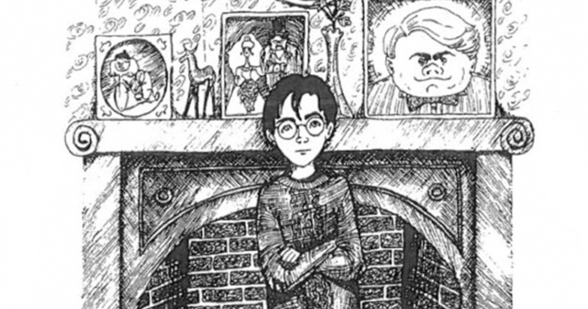 Harry Potter Rownling Sketch