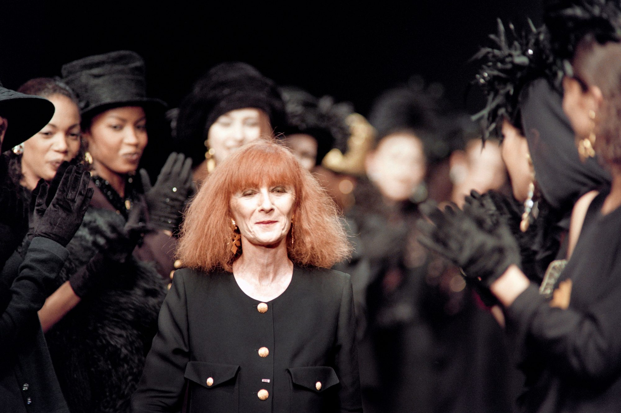 FRANCE-FASHION-PEOPLE-RYKIEL-OBIT-DEATH
