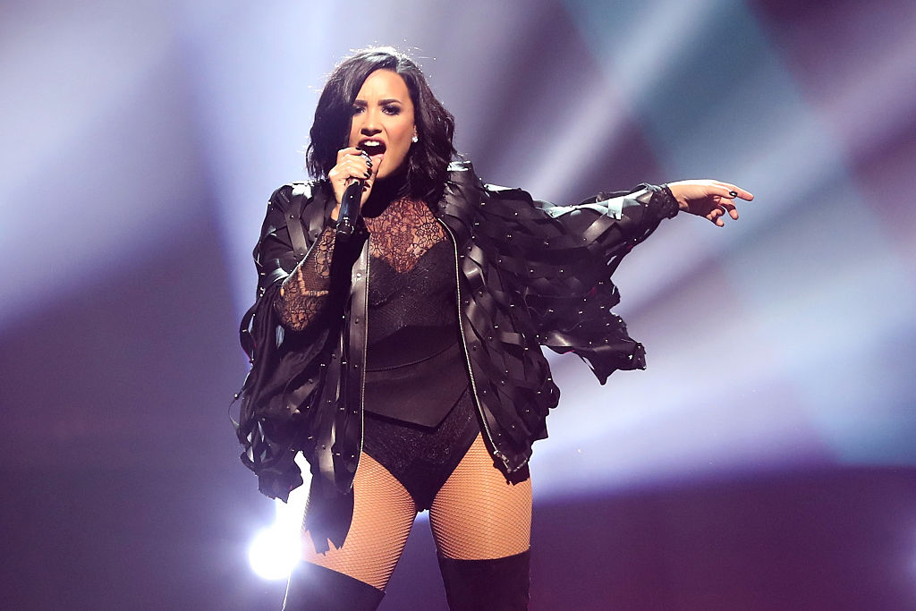 Demi Lovato & Nick Jonas In Concert - Boston, Massachusetts