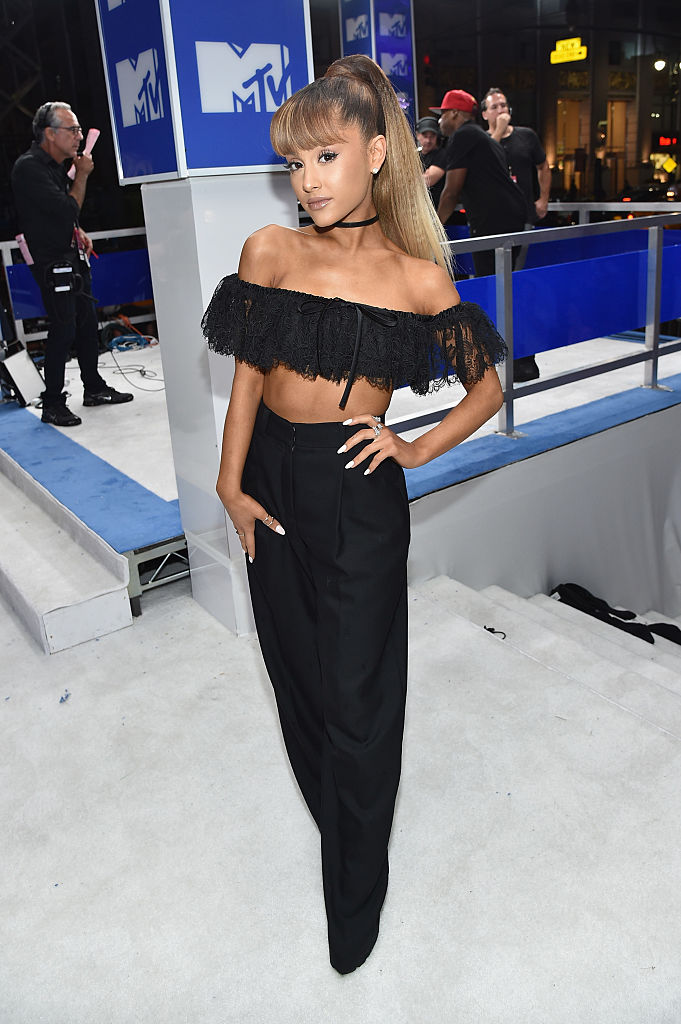 NEW YORK, NY - AUGUST 28:  Ariana Grande attends the 2016 MTV Video Music Awards on August 28, 2016 in New York City.  (Photo by John Shearer/Getty Images for MTV.com)