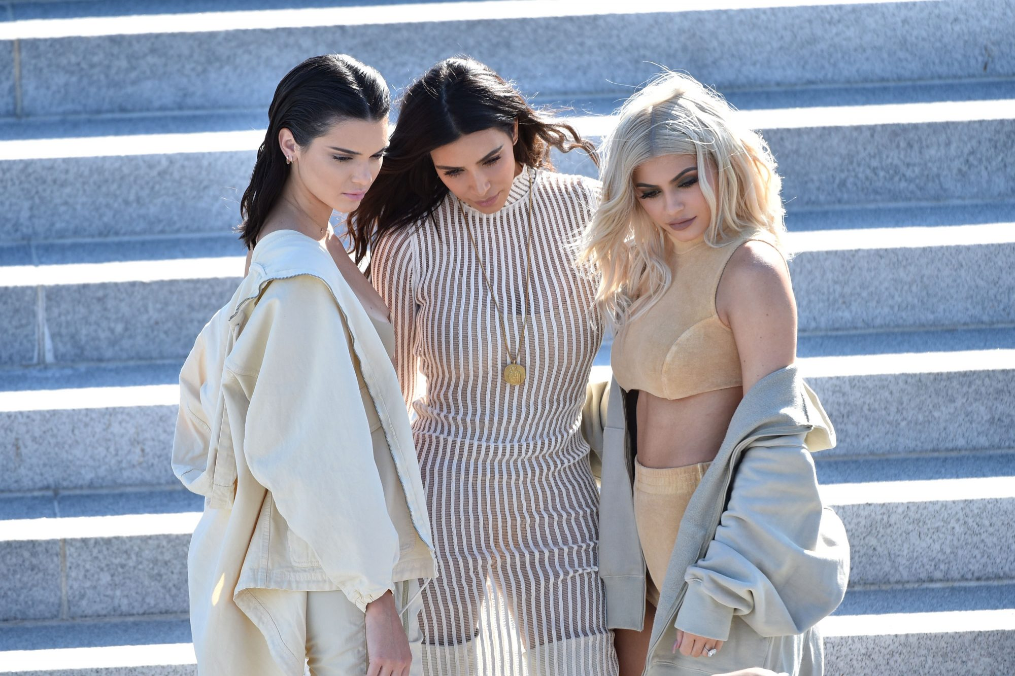 Picture of Kendall Kim Kylie Yeezy Season 4