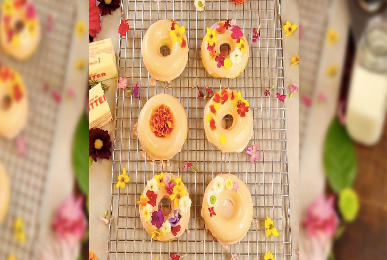 Fancy Donuts flowers