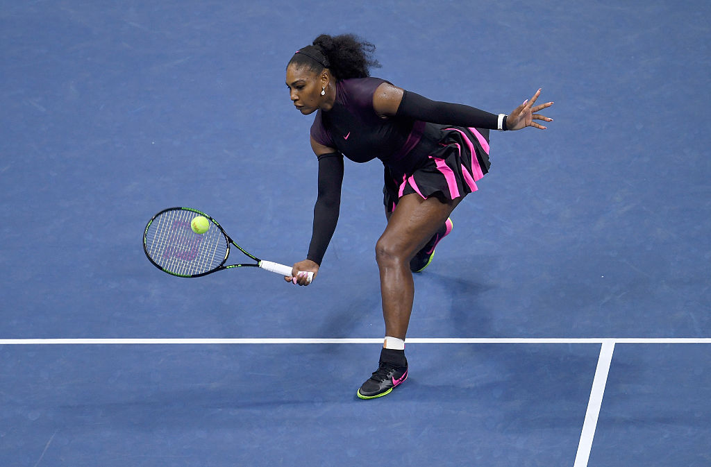 on Day Eleven of the 2016 US Open at the USTA Billie Jean King National Tennis Center on September 8, 2016 in the Flushing neighborhood of the Queens borough of New York City.