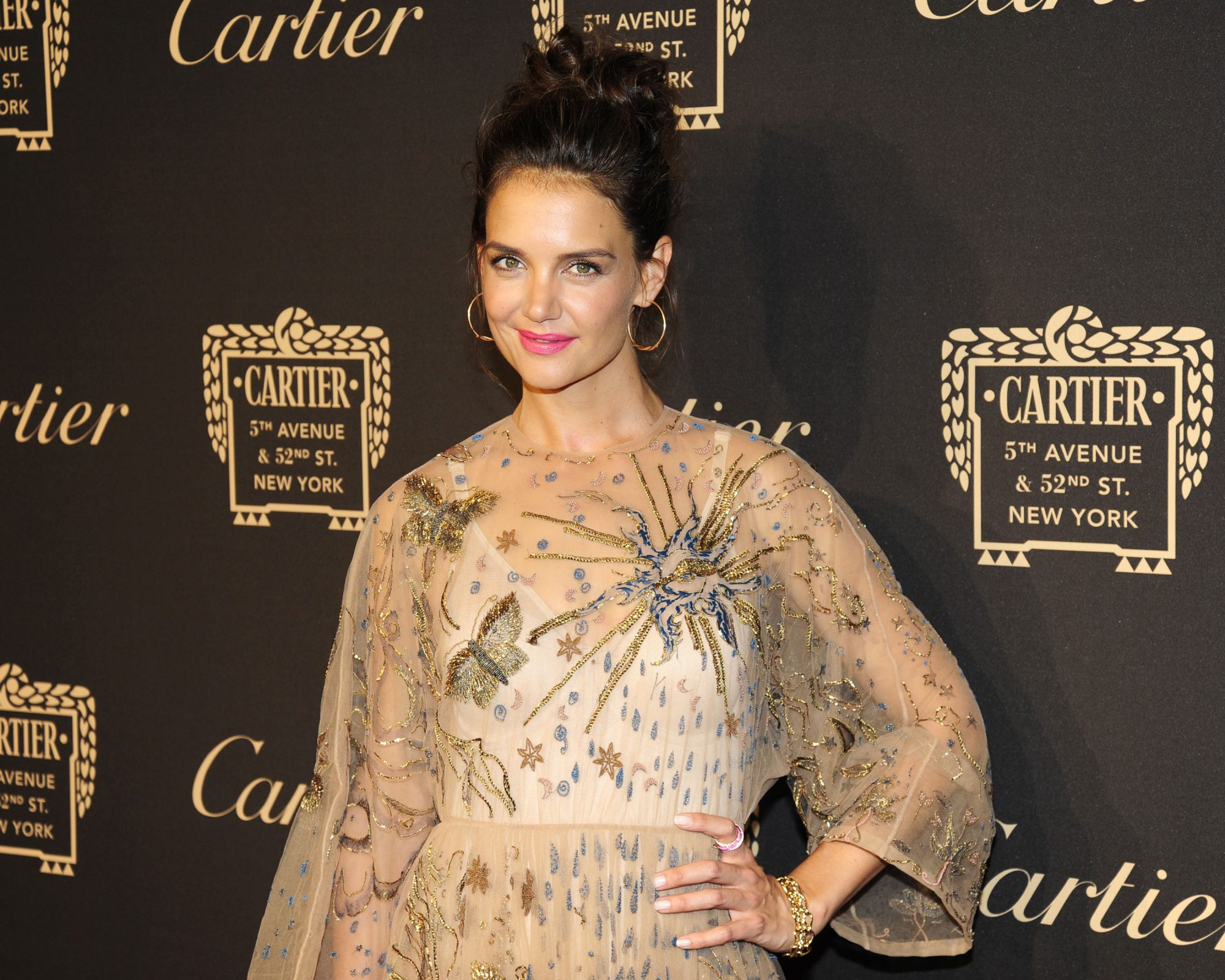 Picture of Katie Holmes Cartier