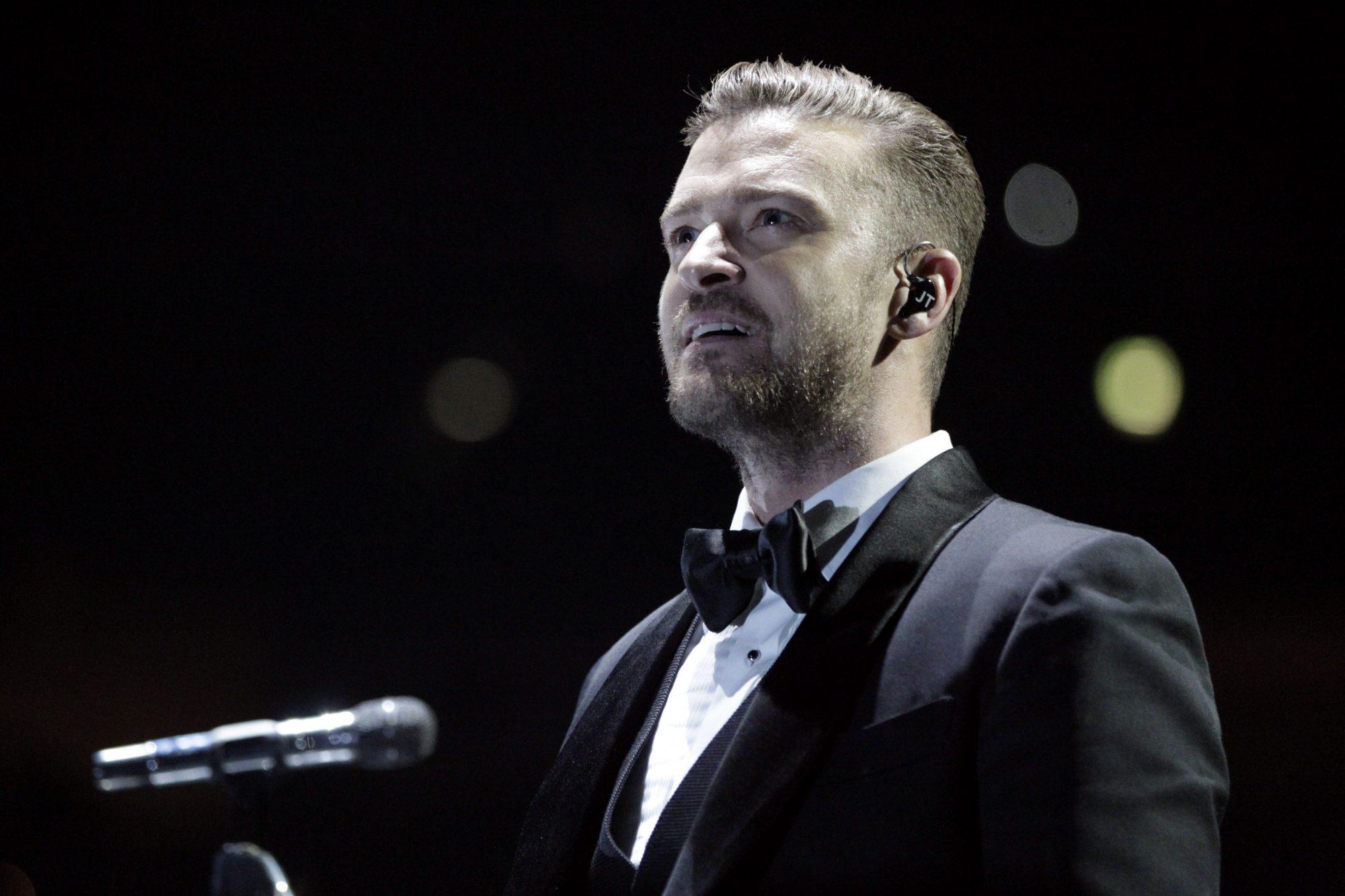 """Popstar Justin Timberlake gastiert auf seiner """"The 20/20 Experience""""-Tour in der Lanxess-Arena K?ln"""