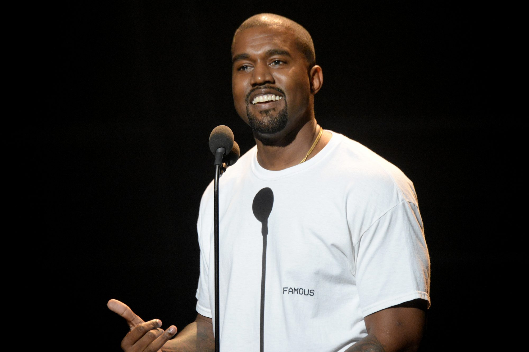 Picture of Kanye West Famous T-shirt