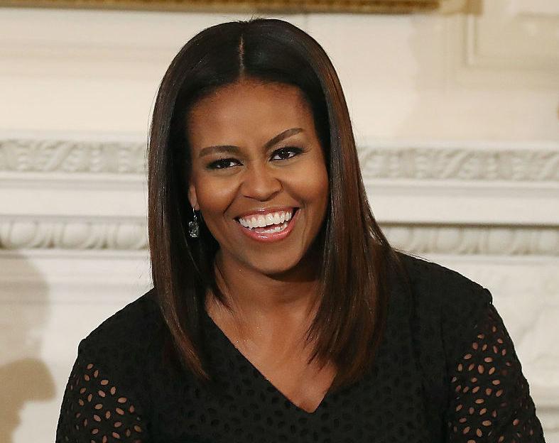 First Lady Michelle Obama Hosts National Student Poets Program With Hip Hop Artist Q-Tip