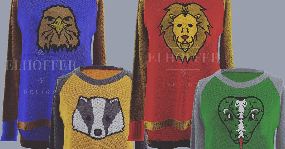 Hogwarts Sweaters