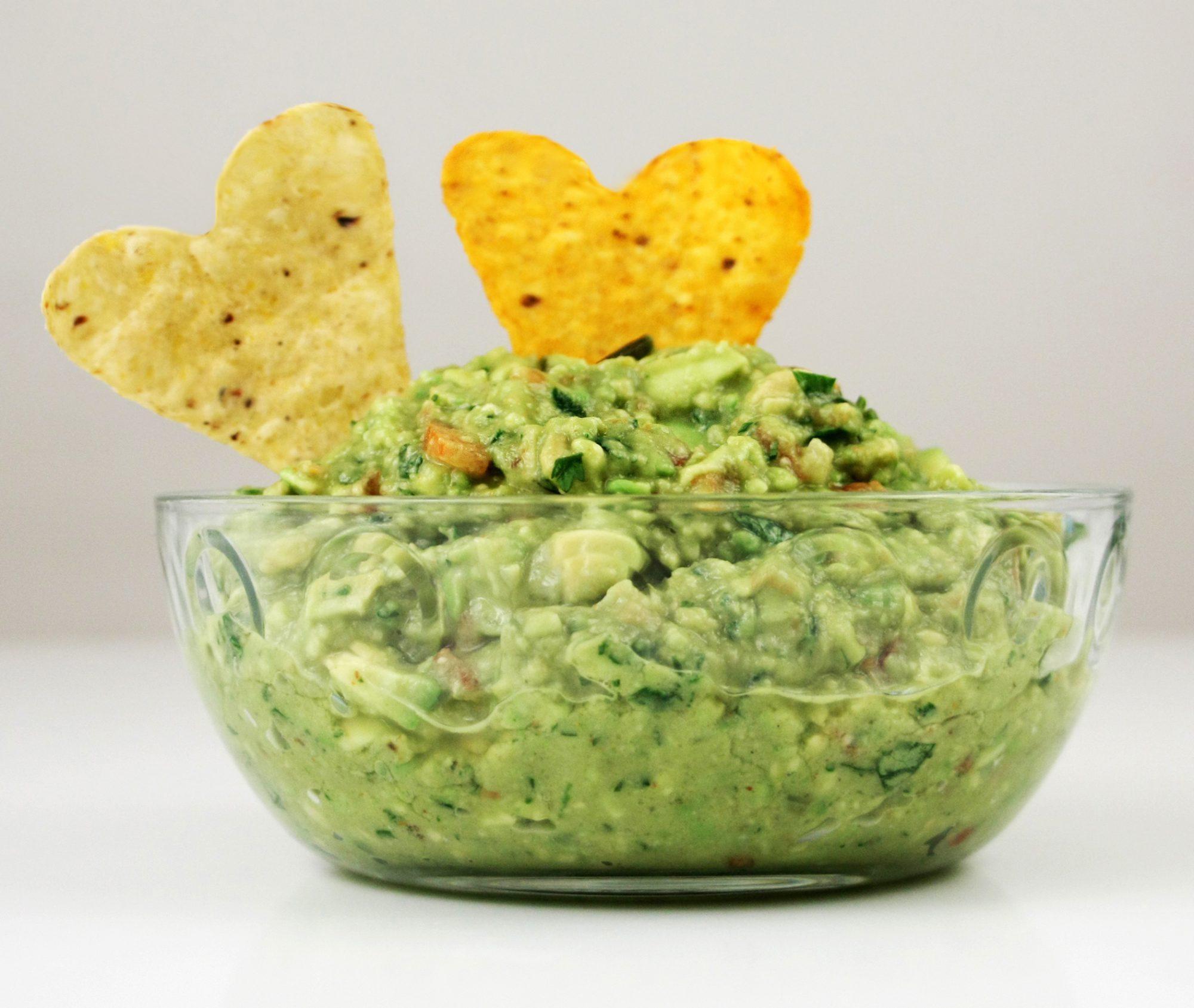 Heart shape chips