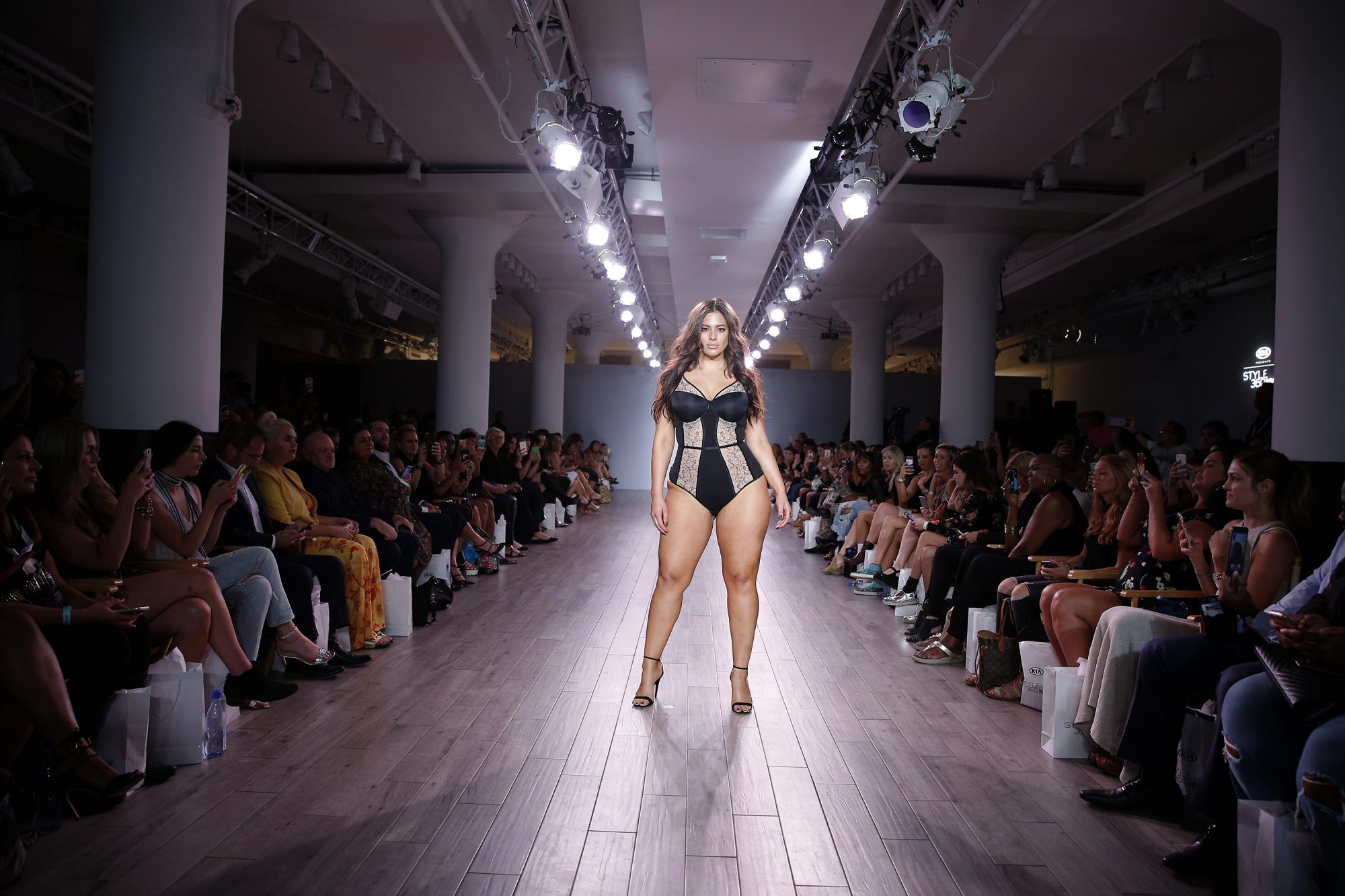Picture of Ashley Graham NYFW