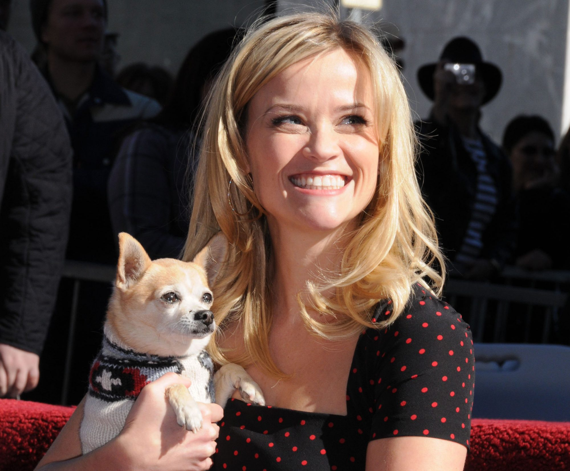 Reese Witherspoon Hollywood Walk Of Fame Star Induction Ceremony
