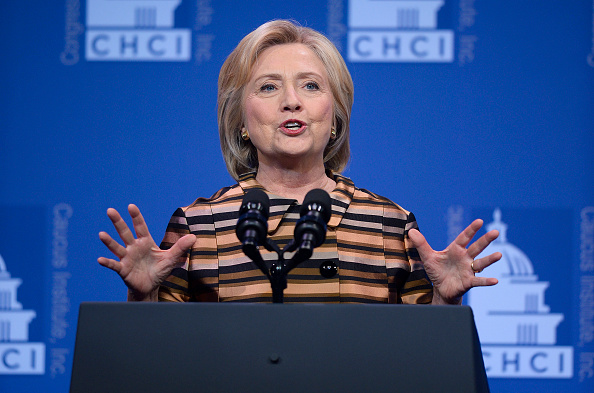HIllary Clinton Speaks At The Congressional Hispanic Caucus Awards Gala