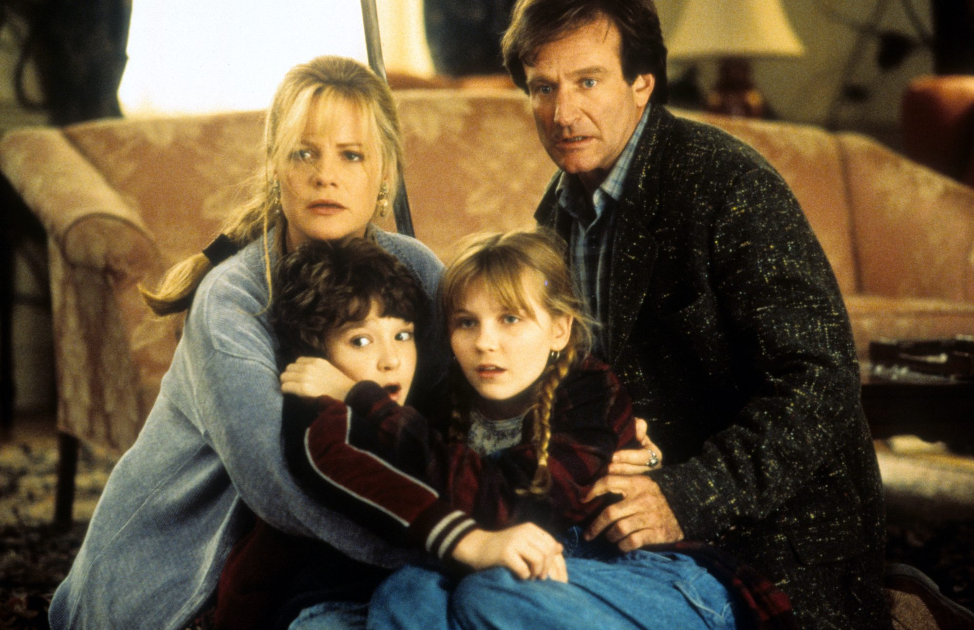 Bonnie Hunt And Robin Williams In 'Jumanji'
