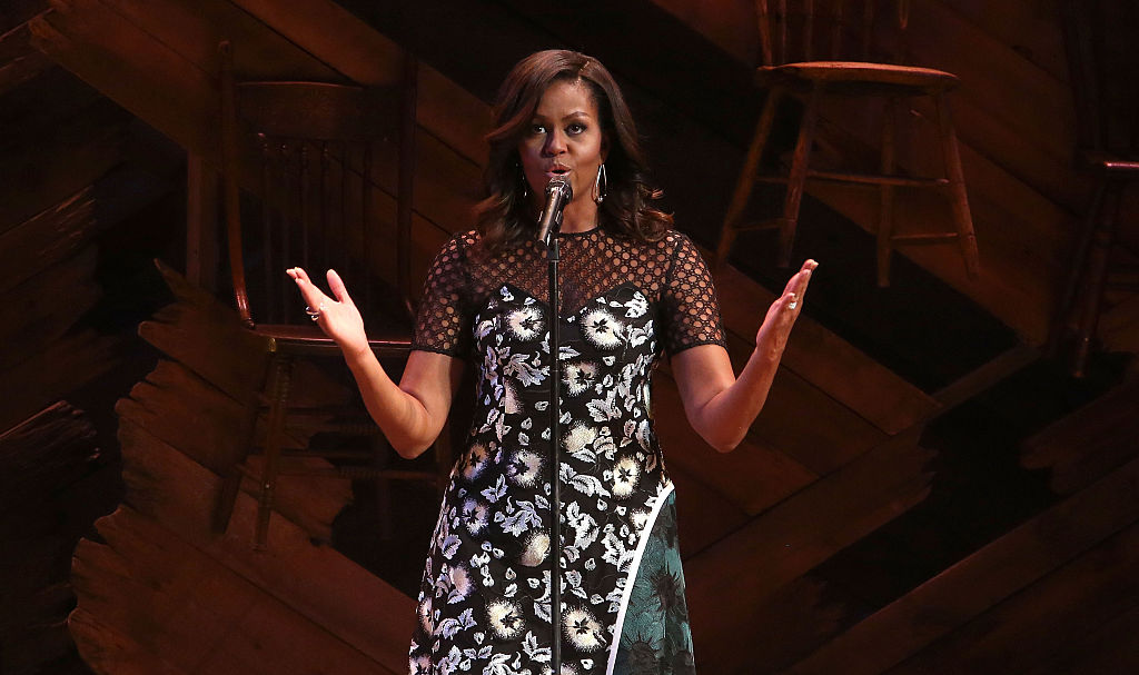 Michelle Obama Helps Broadway Shine A Light On Girls' Global Education