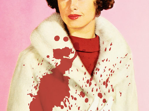 Bloody fur coat