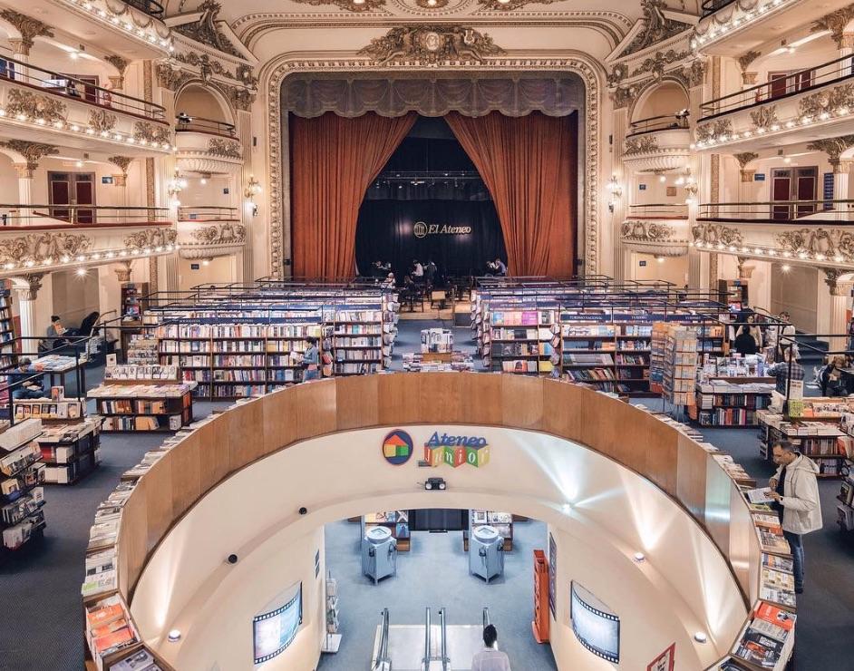 el ateneo grand bookstore