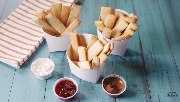 sugar cookies fries