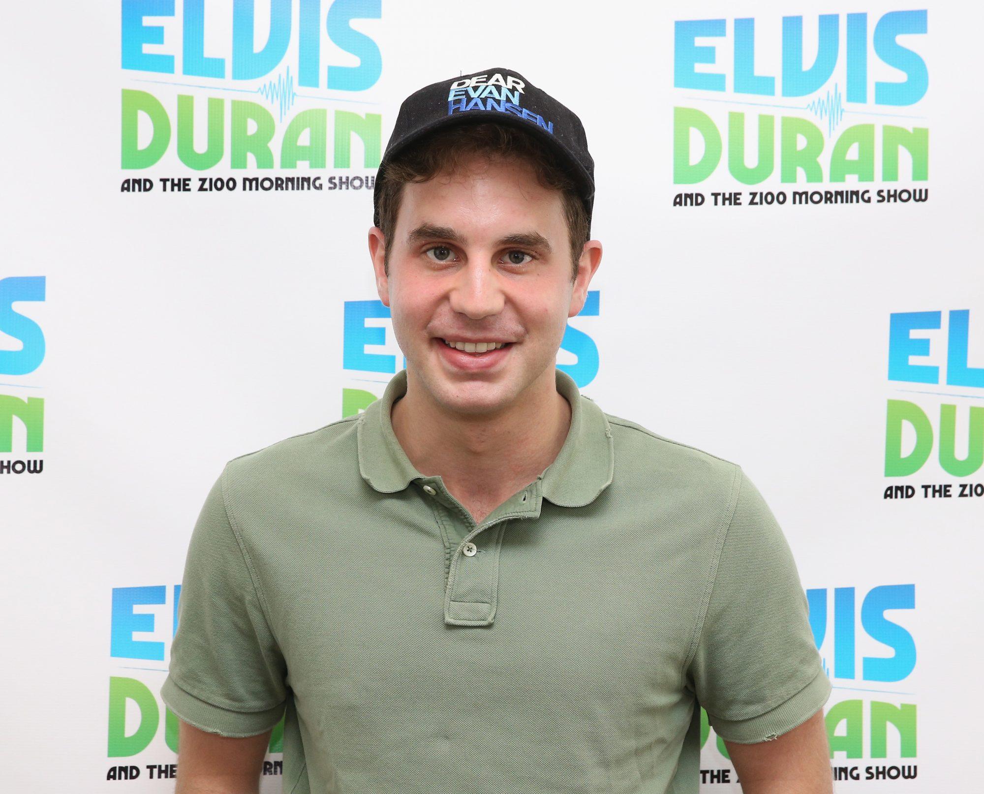 """Ben Platt Visits """"The Elvis Duran Z100 Morning Show"""""""