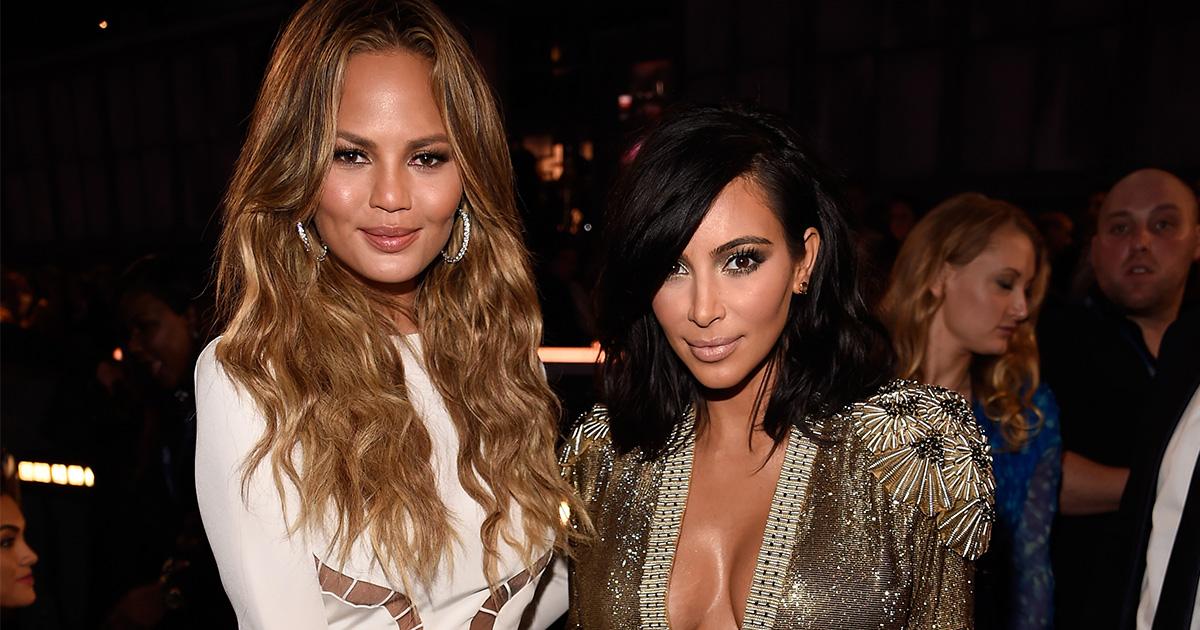 Chrissy Teigen x Kim Kardashian