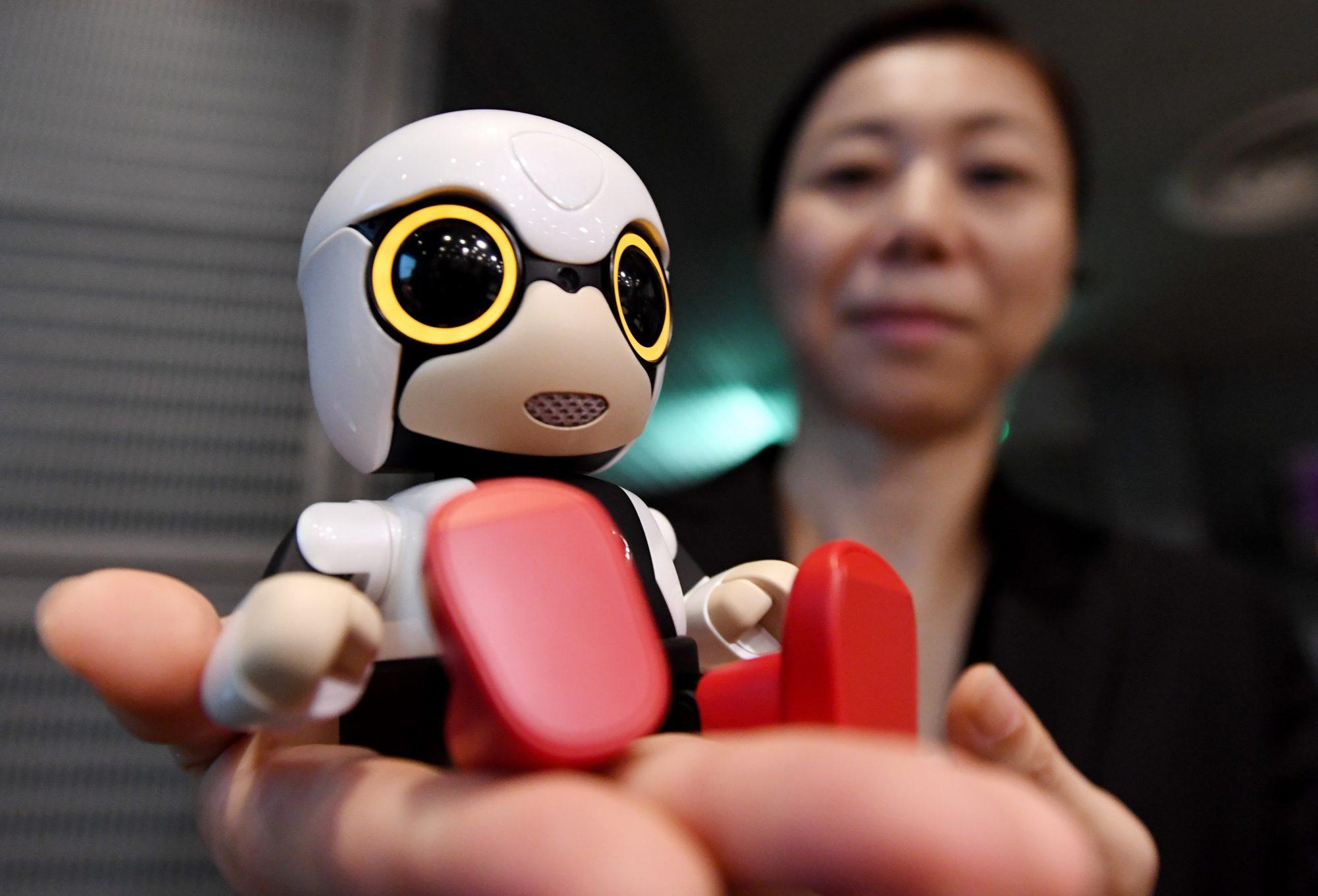 JAPAN-ROBOT-SCIENCE-COMPANY-TOYOTA-KIROBO MINI