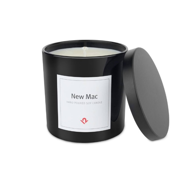 mac scented candle