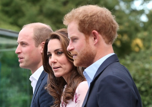 Kate and Will and Harry