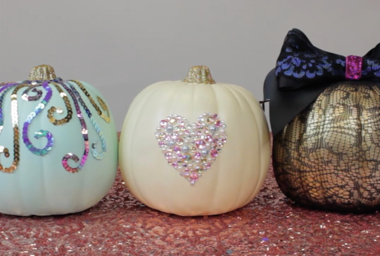 glam-pumpkins