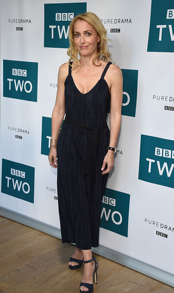 LONDON, ENGLAND - SEPTEMBER 07:  Gillian Anderson of BBC Two drama 'The Fall' attends the launch of series three at BFI Southbank on September 7, 2016 in London, England.  (Photo by David M. Benett/Dave Benett/WireImage)