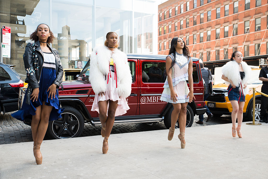 Mercedes-Benz and the Hiplet Ballerinas Stage a Pop Up Live Performance Choreographed by Homer Bryant