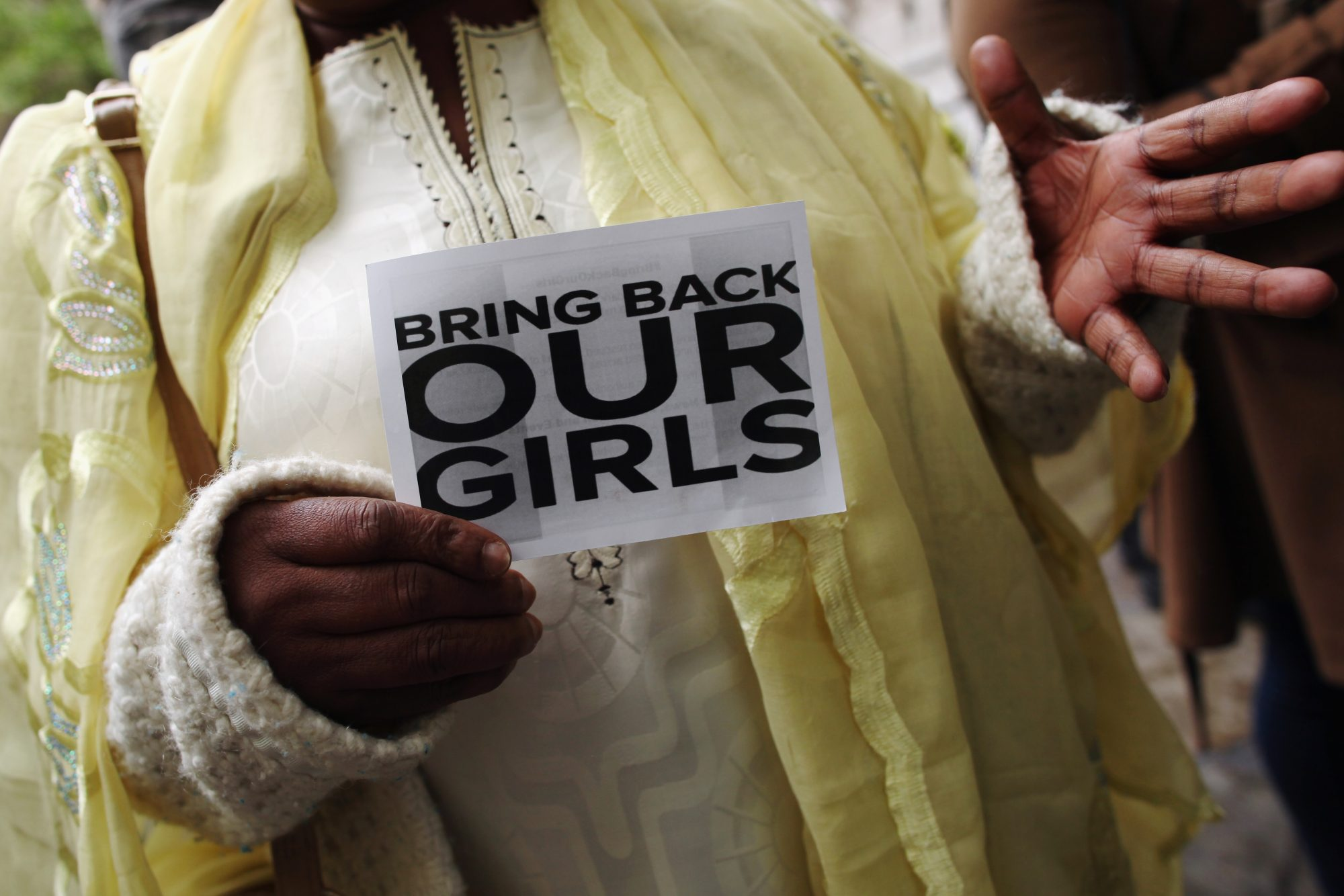 London Protest Against The  Kidnapping Of More Than 200 Nigerian Girls