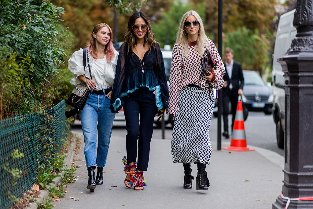 Street Style : Day Three Paris Fashion Week Spring/Summer 2017