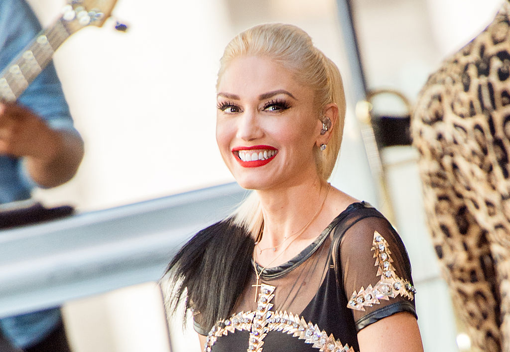 """Gwen Stefani Performs On NBC's """"Today"""""""