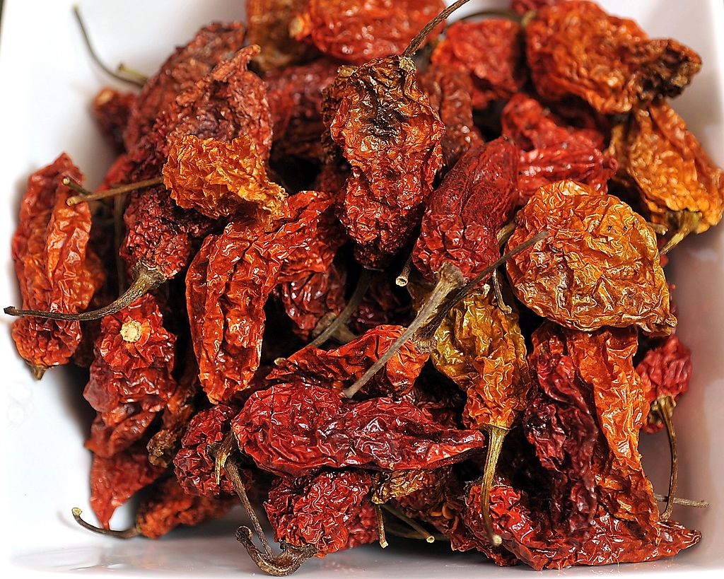This is Ghost Peppers (Chiles), one of many spices available for wholesale purchase at Rick and Chri