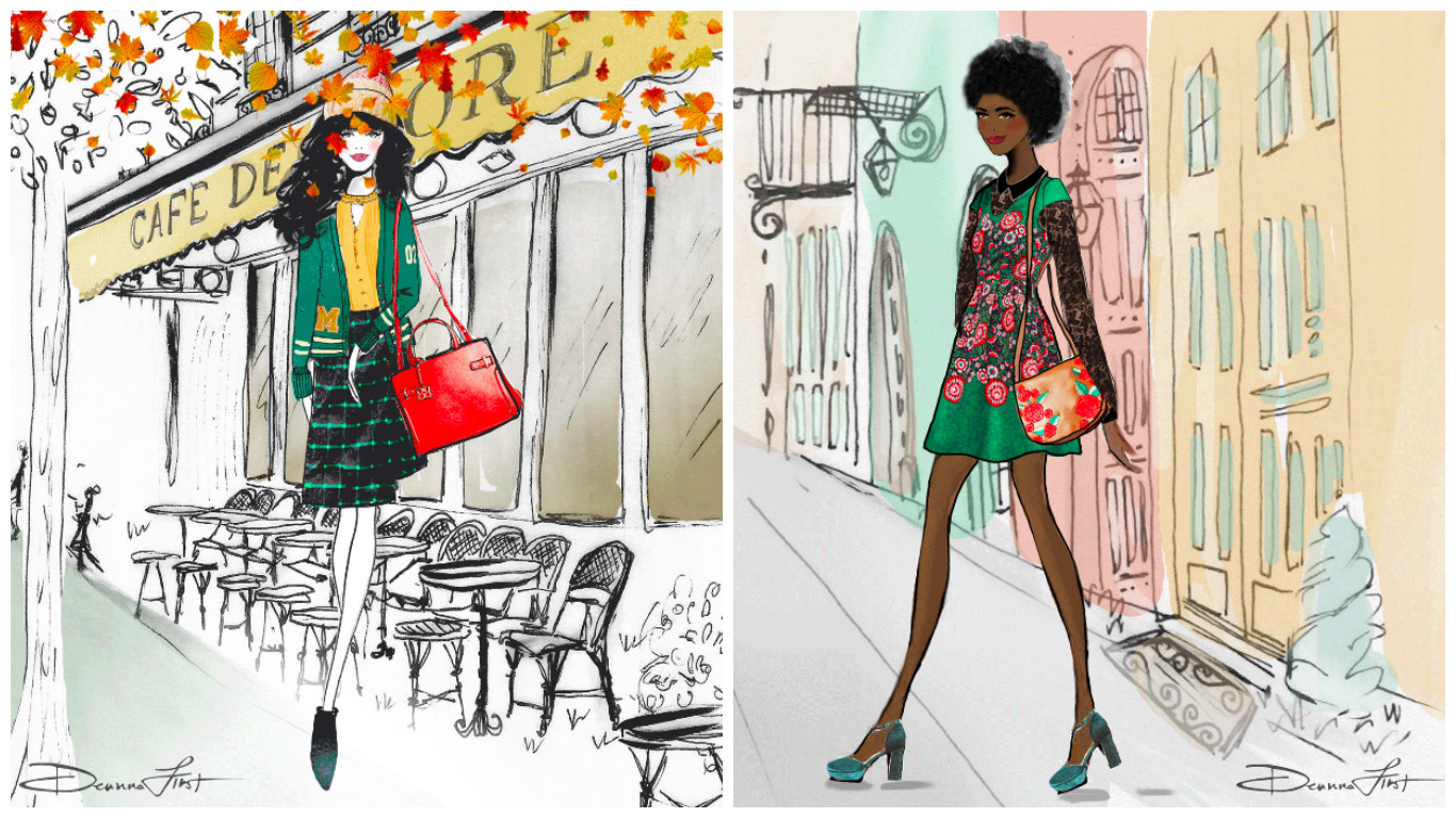 Picture of ModCloth Illustrations