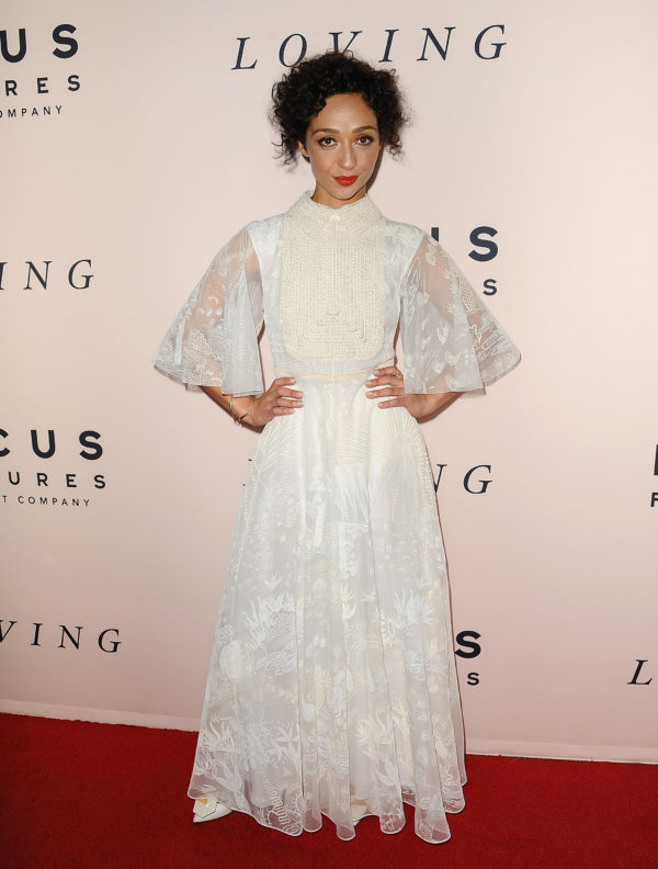 BEVERLY HILLS, CA - OCTOBER 20:  Actress Ruth Negga attends the premiere of