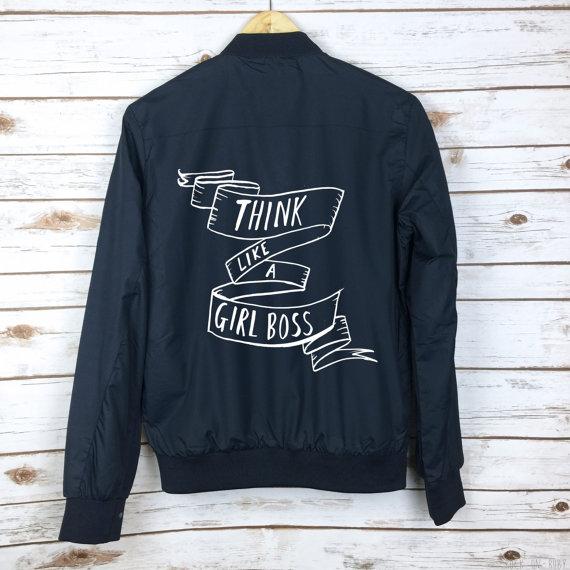 Slogan Jacket Hello Giggles