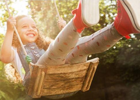 Picture of Capri Sun Girl Swinging