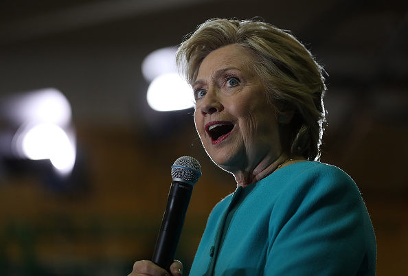 Hillary Clinton Campaigns In Florida Ahead Of Presidential Election
