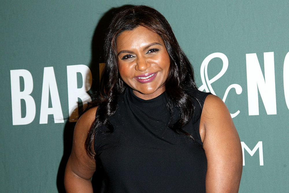 """Mindy Kaling Signs Copies Of Her New Book """"Why Not Me?"""""""