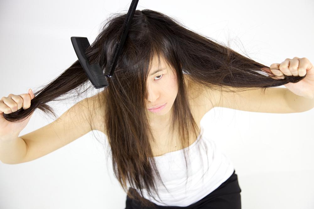 greasy-hair