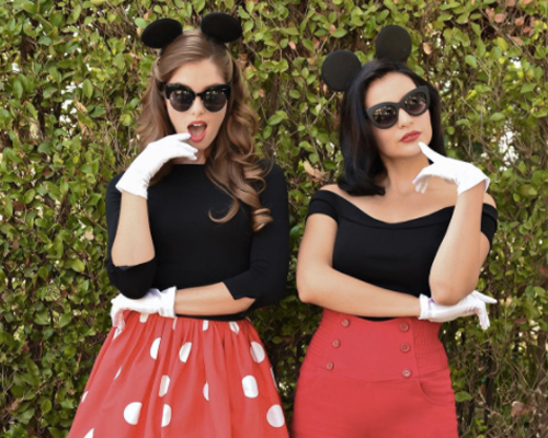 minnie-mickey-diy-costume