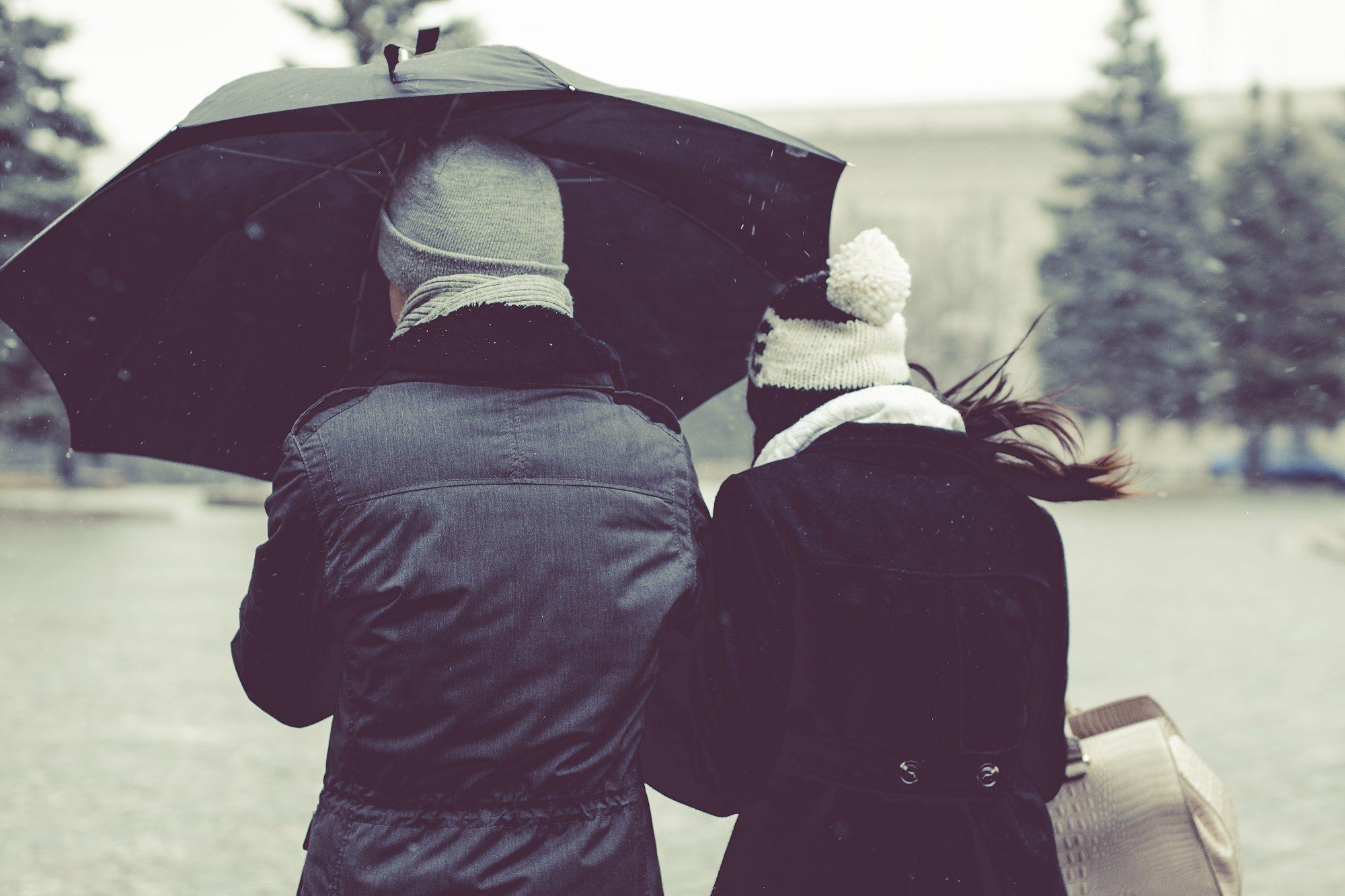 couple umbrella