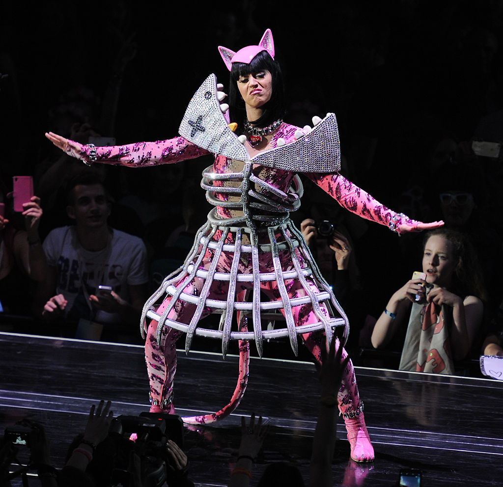 Katy Perry And Charlie XCX Perform At Ziggo Dome In Amsterdam