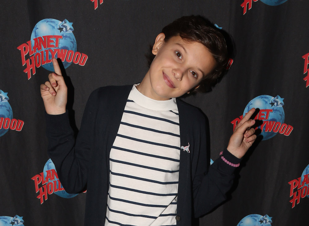 Millie Bobby Brown Visits Planet Hollywood