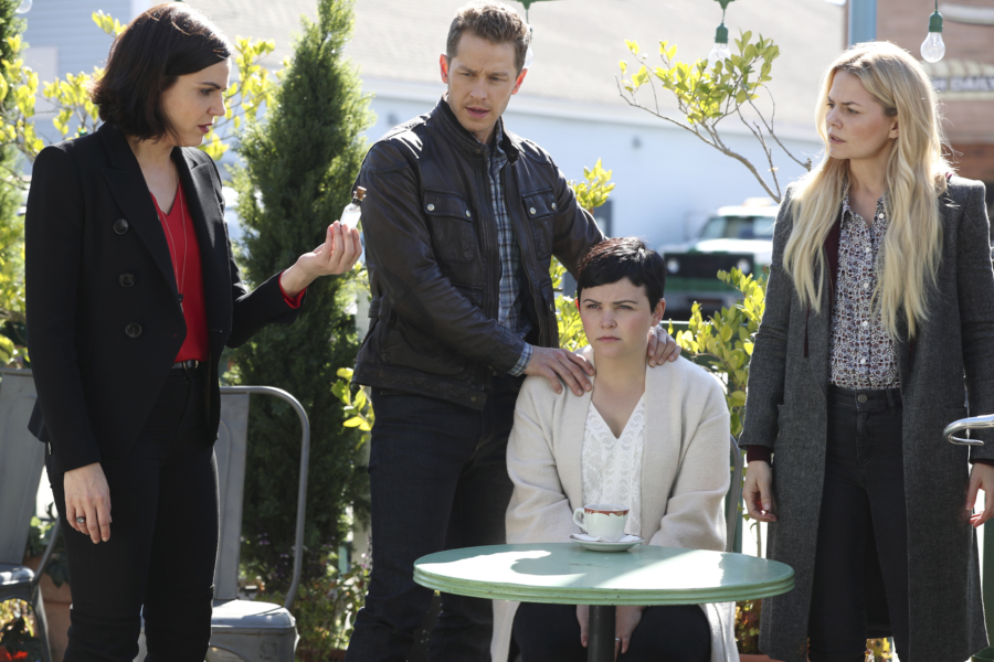 LANA PARRILLA, JOSH DALLAS, GINNIFER GOODWIN, JENNIFER MORRISON
