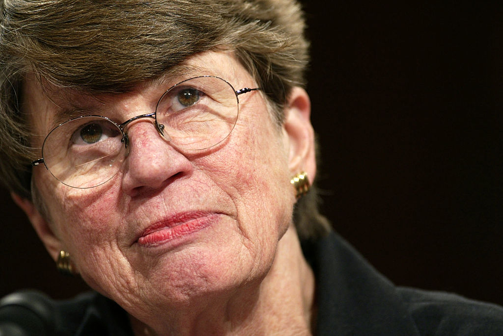 Janet Reno,Former Attorney General of the United States test