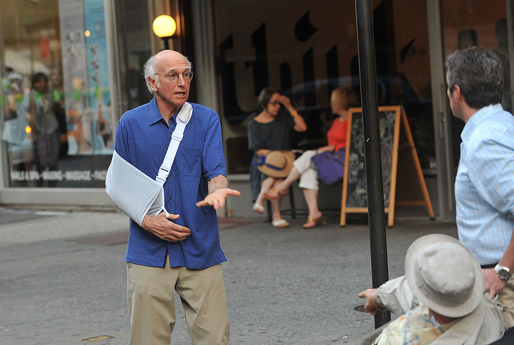 """On Location For """"Curb Your Enthusiasm"""" - July 16, 2010"""