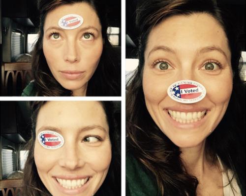 jessica-biel-voting